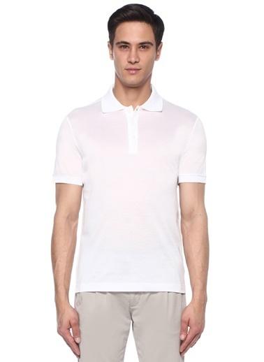Luciano Barbera Tişört Beyaz